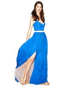 Fashion Star Dress, Sleeveless Maxi - Impulse Dresses - Women - Macys
