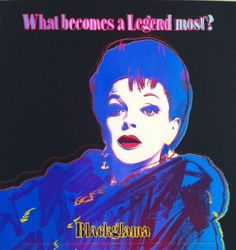 Blackglama (Judy Garland) by Andy Warhol at The Taylor Gallery