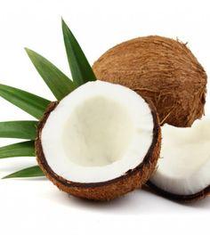 Gelado de coco sem açúcar