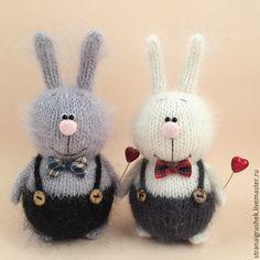Купить Заяц Валентин. - серый, заяц, святой валентин, сувениры и подарки, авторская игрушка