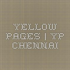 Yellow Pages | YP Chennai