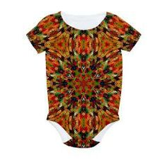 Candy gummy bears mosaic #1 All Over Print Baby Bodysuit  #infantclothing  #babies