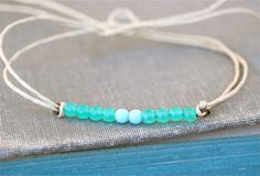 Hey, I found this really awesome Etsy listing at https://www.etsy.com/listing/119495387/sea-meets-skyglass-beaded-string