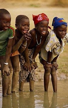 Smiling Children - Mali