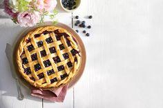 Fresh Berry Desserts: Honey-Balsamic-Blueberry Pie