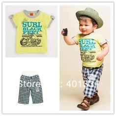 2013 Newest Summer Two-Piece Kids Clothes Set Children Clothing Suit Baby Boys Clothes Suit 2pcs/lot Free Shipping on AliExpress.com. $8.00