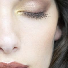 """Makeup Basics for BROWN  Eyes.  HIGHLIGHT INNER CORNERS:  To draw attention to your brown eyes and make them look slightly wider, apply a dab of highlighter on the inner corner of your eyes. Alternatively, line the inner corners with a white eyeliner. This also brightens eyes and instantly """"wakes you up"""" (even if you're running low on sleep)."""