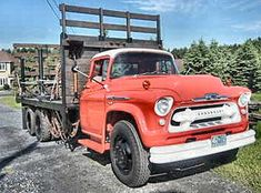 1957 Chevrolet Truck    1957 chevrolet series 8100 truck loggers special
