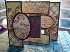 2. Card for Grandpa standing up - Scrapbook.com - By: Insideout