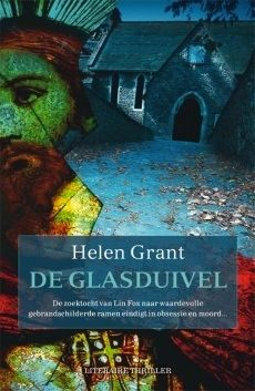 The Glass Demon, Dutch cover. I think this one visualises the story really well.