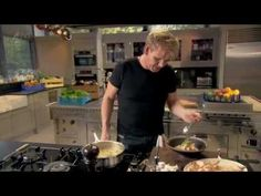 Gordon.Ramsays.Ultimate.Cookery.Course.S01E02 - YouTube - chili beef lettuce wraps, Poached salmon in miso broth