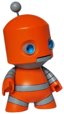 'Ethan MK1 Orange' by RoboticIndustries (Jim Freckingham) exclusive to Fugi.me at ToyCon UK next weekend.