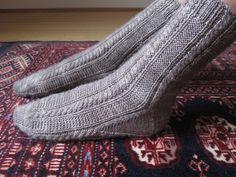 Ravelry: Paper Moon Socks pattern by AnneLena Mattison~toe-up