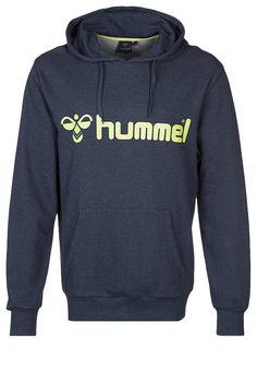 Hummel CLASSIC BEE - Kapuzenpullover - dress blue melange - Zalando.de #HU342G002-K13 #Hummel #null #blau #dunkelblau #blue #logo #bequem #lässig - Handball spielen - Handball spielen