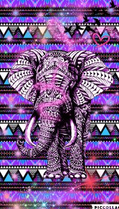 Hispter Cute Girly Elephant Create By Rose
