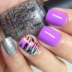 Zebra mani ✧ ✧ ➳ susieq1980