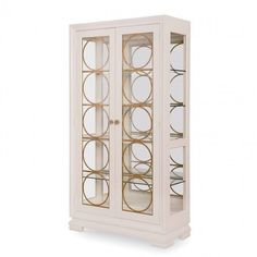 Legacy Classic Furniture Tower Suite Bunching China Cabinet in Pearl Find Furniture, Dining Furniture, Classic Furniture, Shabby Chic Dining Room, China Display, Pearl Color, Luxury Living, Accent Colors, China Cabinet