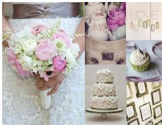 Decedent Yet Delicate. wedding-moodboards