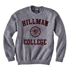 Hillman Bookstore   HILLMAN LONG SLEEVE