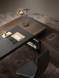 7 Inspirations Home Office Desk Furniture – Modern Corporate Office Design Corporate Office Design, Office Table Design, Modern Office Design, Office Furniture Design, Office Interior Design, Office Interiors, Corporate Business, Office Designs, Business Desk