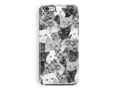 iPhone 6S Case, Cat iPhone 6S Case, Cat Phone Case, Cat Lover Gift, Kitten…