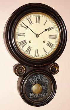 Antique Clock Details Unique Clocks, Cool Clocks, Classic Clocks, Clock Shop, Time Clock, Deco Furniture, Old Antiques, Art Nouveau, Art Deco