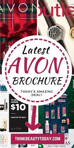 NEW Avon Brochure December 2018. BEST Deals on body lotion, skin care, makeup, shower gels, hand creams, Skin So Soft, bath oil, bubble bath, nail polish, foot cream, perfume, jewelry and kids bath products. TOP brands are Skin So Soft, Avon Anew, Hydra F