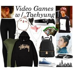 Video Games w/ Taehyung