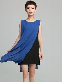 Good idea for added interest on a plain dress.