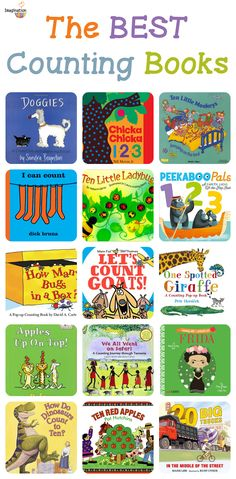25 of the best counting and number books for kids