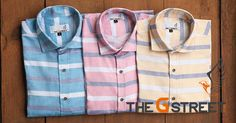 Feel confident and smart with The G Street's trendiest styles of Shirts for a casual day out this summer. Shop   100% Cotton shirts starting @899/- only.  Browse through our collection at www.thegstreet.com Or, Whatsapp us at +919643005488. For wholesale inquiries,   call or whatsapp us at +919555278001. #menwithstreetstyle #styleiswhat #menswear #highsnobiety #styles #dope #style #photooftheday #man #stylish   #outfitpost #shoponline #dapper #kickstarter #mensfashion #gentelmanstyle