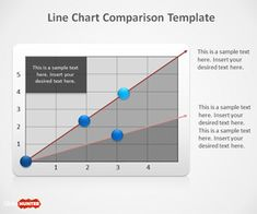 Free Line Chart PowerPoint Template which can be used for presentations and comparison slide designs in Microsoft PowerPoint 2010 and 2013