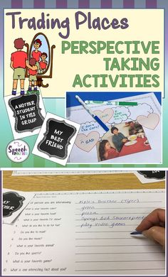 My students with  autism and communication difficulties struggle to understand their friend's perspectives.  These fun activities build skills and tie in with Social Thinking lessons!