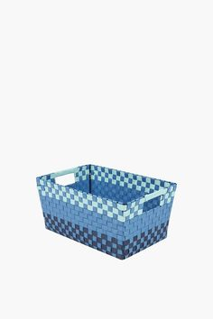 This woven plastic utility basket is great as a storage container.Waterproof and easy to clean, wipe with a damp cloth if it ever gets dirty. Basket Weaving, Lava Lamp, Baby Shop, Baby Kids, Decorative Boxes, Kids Shop, Cleaning, Bedroom, Storage