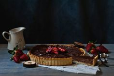 Nutella and mascarpone tart - Red velvet cooking & baking