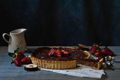 Nutella and mascarpone tart - Red velvet cooking & baking