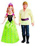 Mattel Disney Princess BDK35 - Die Eiskönigin Anna und Kristoff, 2 Puppen im Set