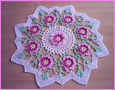 Doily Collection - Free Crochet Diagrams - (de-la-maison-au-jardin.over-blog)