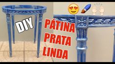 Como fazer uma pátina PRATA  simples e maravilhosa!!! #diy Diy Videos, Furniture, Home Decor, Youtube, Simple, Craft, Small Bench, Paintings, Mosaics