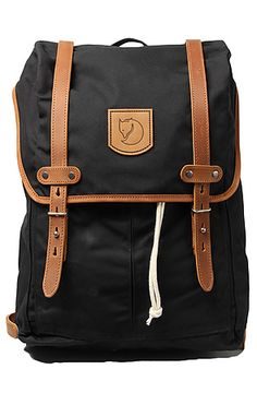 The Rucksack No. 21 Backpack in Black by Fjallraven