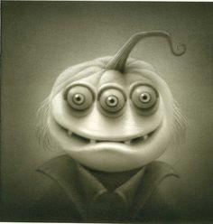 Ghost of Pumpkin Sam ~ Travis Louie
