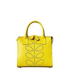 Orla Kiely Textured Leather Margot Bag