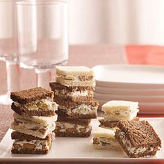 Olive-Nut Spread Sandwiches | MyRecipes.com. Also delicious served as a spread with crackers.