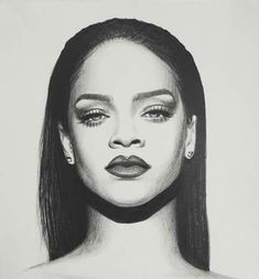 Dream Art Works by Dreameraddict Pencil Portrait Drawing, Pencil Art Drawings, Art Drawings Sketches, Realistic Drawings, Portrait Art, Drawing Pin, Horse Drawings, Black Art, Rihanna Drawing
