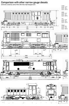 Hobby Trains, Bahn, Train Car, Diesel Engine, Model Trains, Gauges, Technical Drawings, Transport, Hobbies