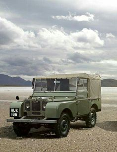 HUE166 -  the first production Land Rover