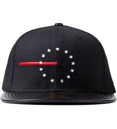 BLACK SCALE/ Black Red Line Rebel New Era Cap