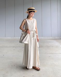 """yuki on Instagram: """"セットアップ〜𓇼 𓇼 𓇼 涼しい〜🤤🎐スカートは、ペチコート付き𓍢  バッグはタイムセール中〜! 他にも1000円クーポンが出てたのでチェックしてみてね𓍼  #ナチュラルリネンスリーブレストップス  #ナチュラルリネンフレアラップスカート #セットアップコーデ…"""" Yuki, Shirt Dress, How To Wear, Shirts, Vintage, Instagram, Dresses, Style, Fashion"""