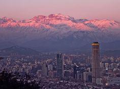 https://flic.kr/p/afbon9 | Dusk. Santiago de Chile.