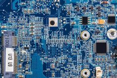 Computer circuit board | High-Quality Technology Stock Photos ~ Creative Market Hack Internet, Green Computing, Circuit Board Design, Time Running Out, Computer Hardware, Futuristic, Boards, Stock Photos, Technology